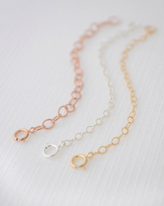 Gold Necklace Extender