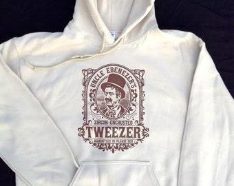 Phish inspired Tweezer hoodie - Trey, SCI, Grateful Dead, LSD, hippie, 420, Zappa, tweeprize