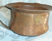 Dovetailed Copper Chamber Pot