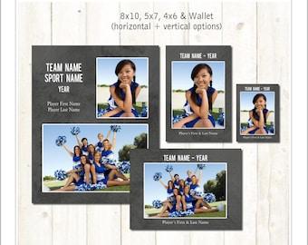 cheerleader memory mate templates sports template psd. Black Bedroom Furniture Sets. Home Design Ideas