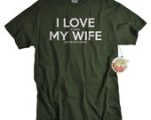 Hunting Gifts for Men Valentines Day Gifts for Hunters T shirts I Love My Wife T-shirts shirts for men I Love it when My Wife® Brand Tshirts