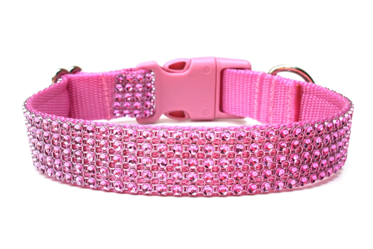 Pink Rhinestone Dog Collar 1 Pink Dog Collar - photo#47