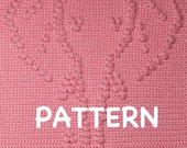Elephant Baby Blanket Pattern - Crochet Pattern - Crochet Baby Blanket  - Baby Snuggle Blanket  - Car Seat or Stroller Blanket