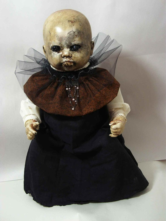 Creepy Zombie Baby Doll Sister Vincent One Of A