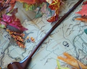 Gandalf Pipe 18 inch Dark  Highly Figured Maple Long Pipe