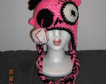 Zombie Princess hat horror crochet