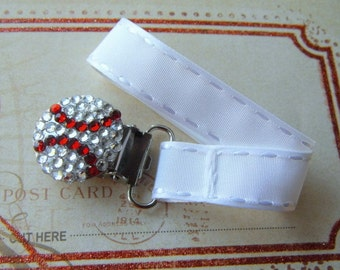 Universal Pacifier Bling Clip for Most Brands of Pacifiers