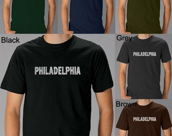 Men's T-shirt - Philadelphia Neighborhoods - Created using some of Philadelphia's most popular neighborhoods