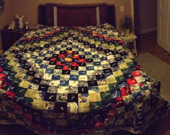Custom Designed Memory or Keepsake Quilt
