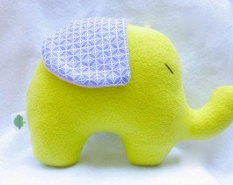 Lime Elephant Plushie