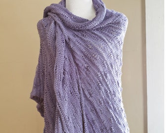 E PATTERN Knitting spring summer Shawl