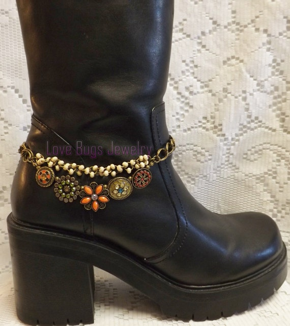 evening in pairs boot jewelry boot bracelet boot bling
