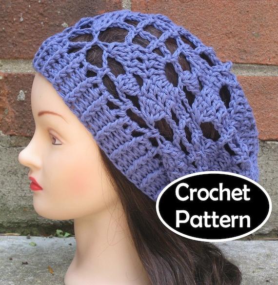 Easy Summer Crochet Hat Patterns : CROCHET HAT PATTERN Pdf Instant Download Emmeline Summer