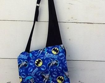 Batman Large Back to school messenger bags, Batman messenger bags, boys school bags,  Novelty messenger bags