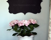 Monogrammed The Cutest Chalkboard-Preppy and Perfect for Birthday Parties, Family Notes, Showers, Weddings, Kid's Rooms