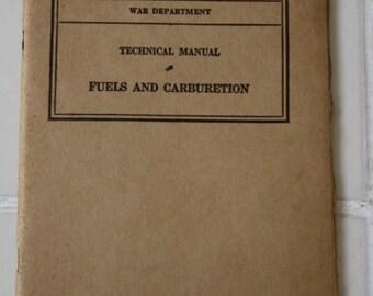 1940s War Department Technical Manuals WW II