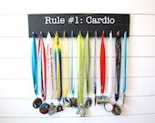 Medal Holder inspired by Zombie Land - Rule #1: Cardio - Large