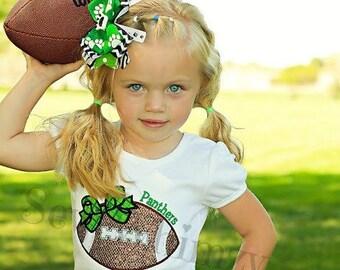 Football bow shirt