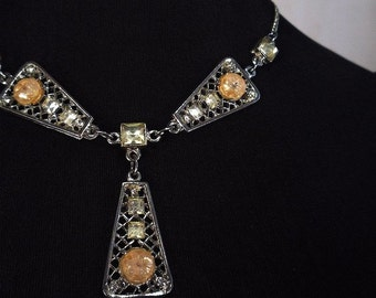 Vintage Art Decco Necklace