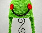 Frog Hat - Made to Order