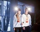 christmas sweater, reindeer sweatshirt, christamas jumper, unisex clothes, christmas gift, unisex clothes, xmas sweater, xmas, sweater