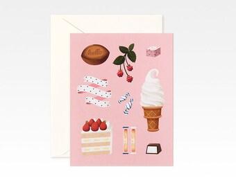Pink Desserts Card