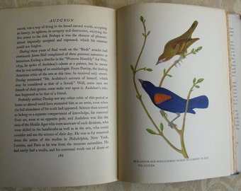 Vintage Book - Audubon by Constance Rourke 1936 First Edition, Harcourt, Brace and Company