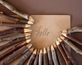 Rustic Wooden Pencils