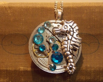Ocean Watch Movement Necklace