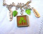 Earth & Tree Necklace