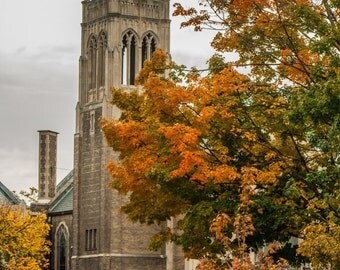 Church in Richmond Virginia on Monument Avenue Picture, St John's Church, Photo Art, Framed Photography Option