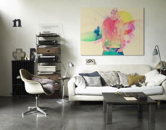 Jay Z Canvas Print