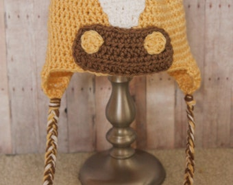 Horse hat - Crochet Horse Hat - Girl Hat