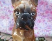 Sweet Vintage Made in Japan Boxer Dog Figurine