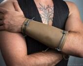 Men's Steampunk Barbed Wire Bracer