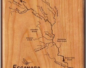 ESCANABA RIVER Map Fly Bo...