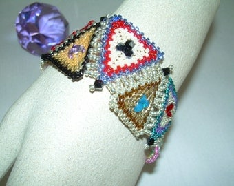 Quilted Bead Bracelet