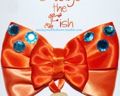 Items similar to pudge the fish hair bow on etsy for Pudge the fish