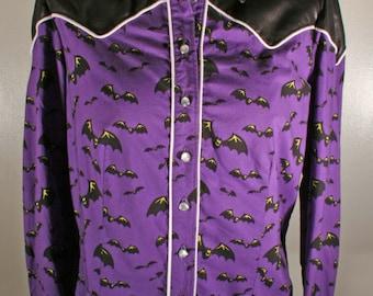 Bespoke Release the bats western shirt