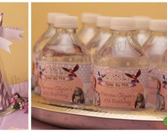 Water Bottle Labels Sofia the First