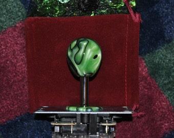 "Custom Hand Made Arcade Stick Joystick Sanwa Ball Top ""The Alien"""