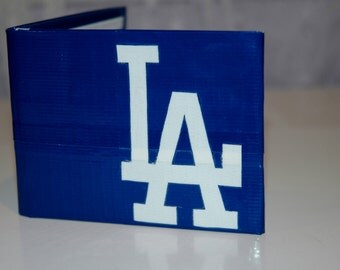 Duct Tape Wallet: Dodgers