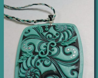Sea Dreams - Polymer Clay Necklace
