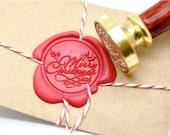 B20 Wax Seal Stamp Merry Christmas Xmas