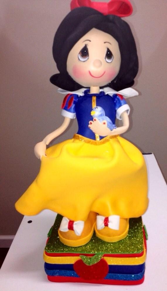 Snow White Birthday cake topper snow white centerpiece