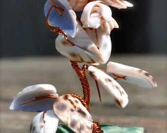 Copper Wire Coral Tree Art