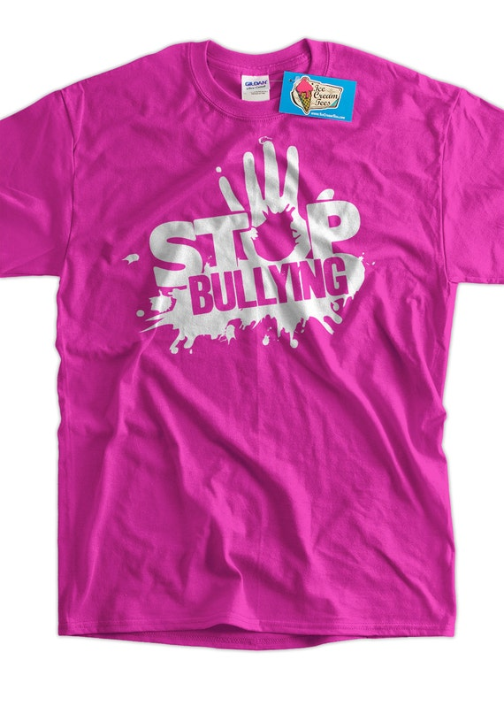 Anti Bullying Stop Bullying T-Shirt school pink shirt day