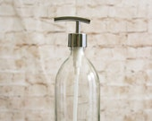 Marseille Glass Soap Dispensers- Clear Glass