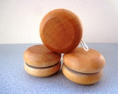 Wood YOYO - Hand Polished - Party Favor - All Natural - Eco Friendly Kids Toy