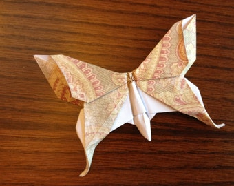 Origami Swallowtail Butterfly - 4.5 in